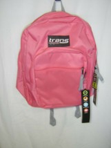 TRANS KIDS BACKPACK BY JANSPORT SUPERMAX GUAVA PINK NWT :B19-5 - $27.75