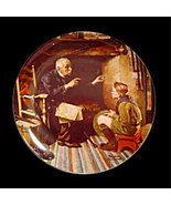 Norman Rockwell collector plate 'The Veteran' - $29.90