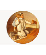 Norman Rockwell collector plate  - $29.90