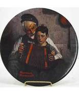 Norman Rockwell collector plate 'The Music Maker' - $29.90