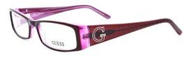 GUESS GU1589 BU Women's Eyeglasses Frames 52-16-135 Burgundy / Pink - $64.25