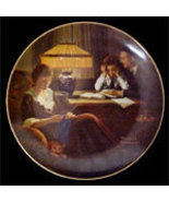 Norman Rockwell collector plate ' Father's Help' - $29.90