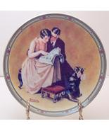 Norman Rockwell collector plate 'A Couple's Commitment' - $29.90