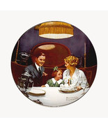 Norman Rockwell collector plate 'Birthday Wish' - $29.90