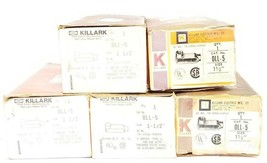 LOT OF 5 NIB HUBBELL KILLARK OLL-5 CONDUIT BODIES 1-1/2'' TYPE: LL