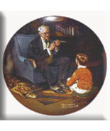 Norman Rockwell collector plate 'The Tycoon' - $29.90