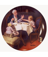 Norman Rockwell collector plate 'The Gourmet' 1985 - $29.90