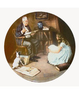 Norman Rockwell collector plate 'The Storyteller' - $29.90