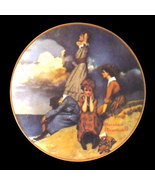 Norman Rockwell collector plate 'Waiting on the Shore' - $29.90