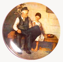 Norman Rockwell collector plate 'Lighthouse Keeper's Daughte - $29.90