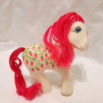 Vintage My Little Pony G1 Sugarberry Strawberry Twice as Fancy 1987 Hong... - $30.00