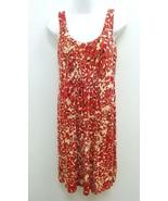 Cabi Womens XS Dress Pink Cream Sleeveless Scoop Neck Stretchy Rayon B273 - $16.99