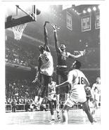 Bill Russell Wilt Chamberlain Celtics 76ers Vintage 5X7 BW Basketball P... - $3.95