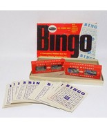 Vintage Whitman Bingo Game 4709 For Young And Old 45 Cards USA 1959 - $19.79