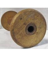 Vintage Antique Industrial Wood Spool for Sewing Thread or Yarn  - $40.00