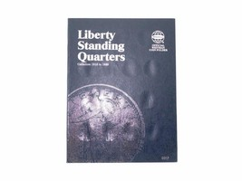 Whitman Coin Folder/Album, Liberty Standing Quarters, 1916-1930 Inclusive  - $5.99