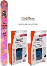Sally Hansen Salon Manicure Dry And Go Drops #39199 (0.37 Fl. Oz/11 Ml) Each Bot - $24.99