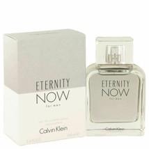 Eternity Now by Calvin Klein Eau De Toilette Spray 3.4 oz for Men - $33.58