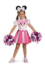 Minnie Mouse Cheerleader , Infant | Toddler's Costume , 3T - 4T , Free S... - $35.00