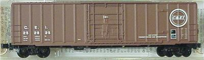 Micro Trains 27030 CEI 50' Boxcar 252825