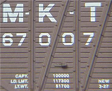 Micro Trains 29040 MKT 40' Boxcar 67007