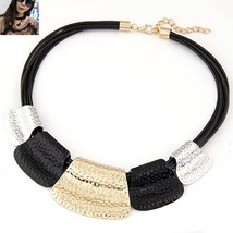 2019 Collares Fashion Statement Necklaces & Pendants For Women Multilaye... - $10.01