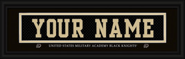 "Personalized U. S. Military Academy ""Black Knights"" Stitched Jersey Fram... - $39.95"