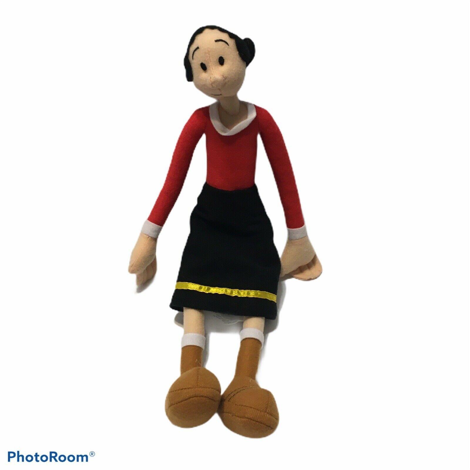"2011 sugar loaf olive oil plush stuffed doll popeye 15"" sailor P2 - $15.90"