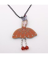 angel girls new 2014 collar & pendant necklace colorful for girl lovely ... - $13.05