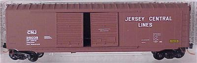 Micro Trains 37040 Jersey Central 50' Boxcar 25039