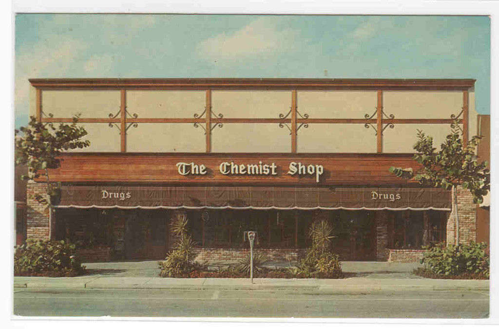 The Chemist Shop Pharmacy Drugstore Fort Lauderdale Florida postcard