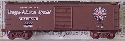 Micro Trains 120230 Seaboard Air Line Boxcar 14900