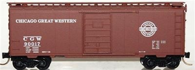 Micro Trains 20950 CGW 40' Boxcar 90017