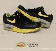 Nike Air Max 1 Premium Black Volt Wolf Grey Women's Sneakers size 8.5 319986-030 - $38.53