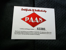JACK LAMBERT / HALL OF FAME / AUTOGRAPHED PITTSBURGH STEELERS CUSTOM JERSEY COA image 6