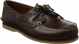 Mens Timberland Classic 2-Eye Boat Shoe - Brown Leather, Size 11 M US - $112.99