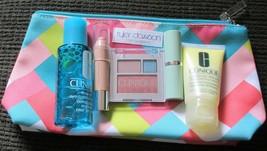 Clinique 5-piece 'Tyler Dawson' GWP & Cosmetic Bag NEW - $19.75