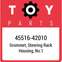 45516-42010 Toyota Bush Steering Rack, New Genuine OEM Part - $23.24