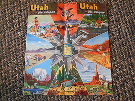 Old Vintage Souvenir Travel Booklet Utah Unique variety vacationland Pic... - $14.99