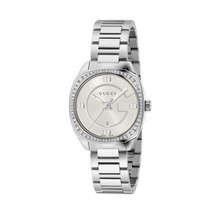 Gucci YA142506 Silver Dial Stainless Steel Strap Ladies Watch - $1,158.89