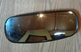 "Wide Angle Mirror Head 4"" x 10"" Rear Mount Convex, Black, Plastic FREE SHIPPING. image 1"