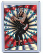 2017-18 Panini Revolution Sunburst Jusuf Nurkic Parallel Card-#/75 - $3.96