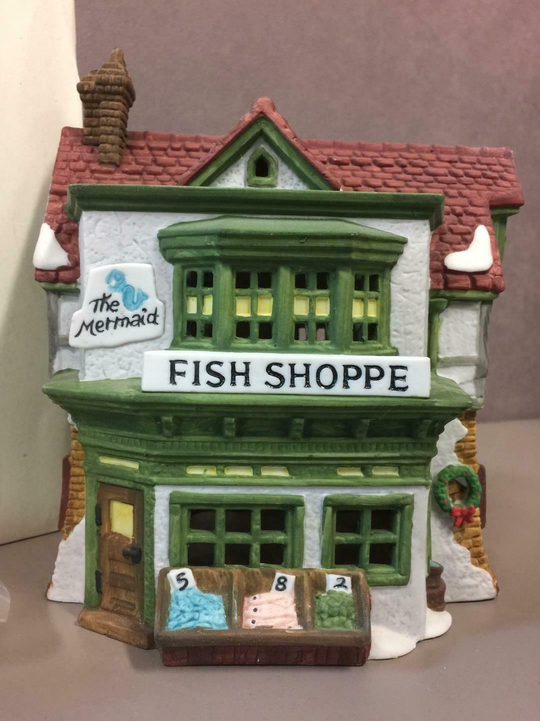 Primary image for Mermaid Fish Shoppe Department 56 Heritage Dickens Heritage Village #59269