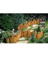 Bamboo Garden Border Edging- Natural Color Sold in 8 Foot Sections - $42.00