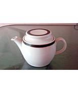 Vintage Royal Doulton Steelite Individual Coffee Pot Teapot  New York Hotel - $14.25