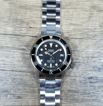 New SKX Style Mod Watch Vintage Dial and Hands, Top Hat Sapphire Crystal, NH35 - $299.00