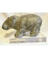 William Sonoma GRECIAN CAST STONE HIPPO Sculpture HIPPOPOTAMUS NWOT SAMPLE - $149.00