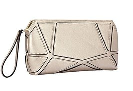 Fashion PU Evening Clutch Handbags GOLDEN