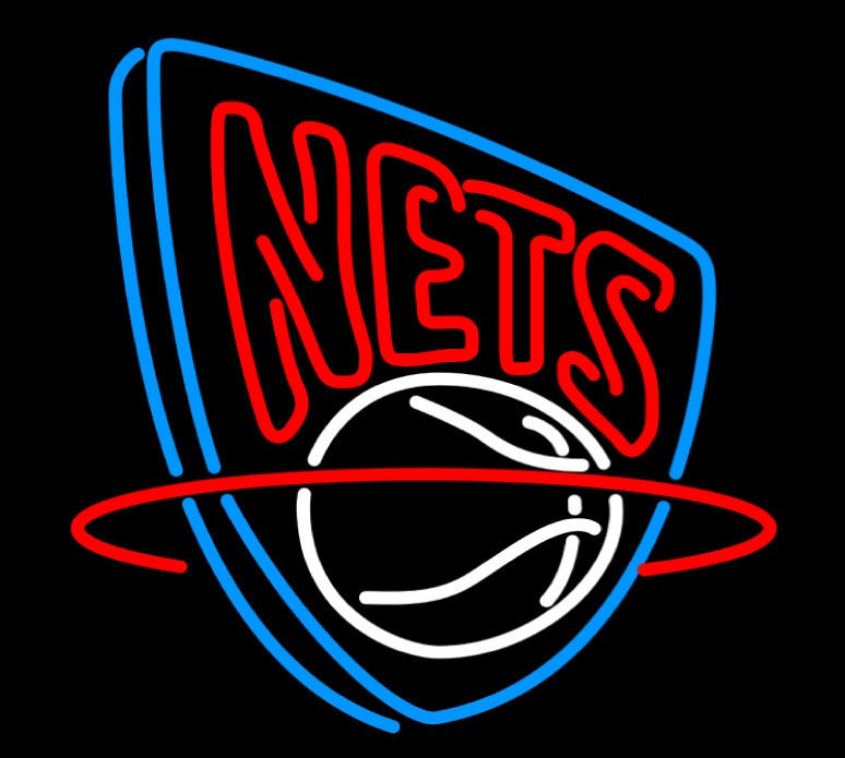 "Primary image for NBA Brooklyn Nets Basketball Beer Bar Pub Neon Light Sign 16""x14"" [High Quality]"