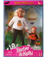 1996 HAPPY HALLOWEEN FUN BARBIE & KELLY Gift Set #17288 NRFB - $28.71